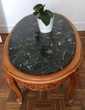 Table basse merisier et marbre à restaurer Courbevoie (92)