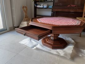 Table basse en merisier octogonale 550 Fontenay-sous-Bois (94)