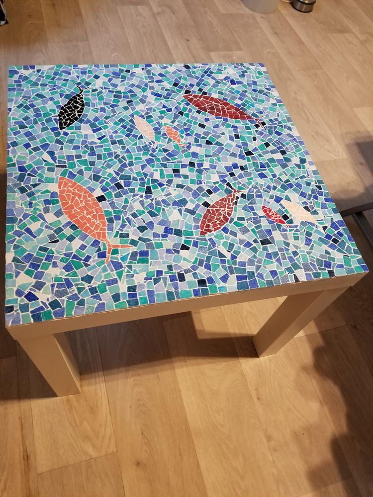 Table basse en mosaïque 100 Ozouer-le-Voulgis (77)