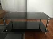 Table basse noire 60 Croissy-sur-Seine (78)