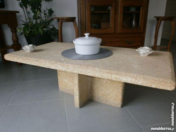 Table Basse Pierre Naturel De Rognes