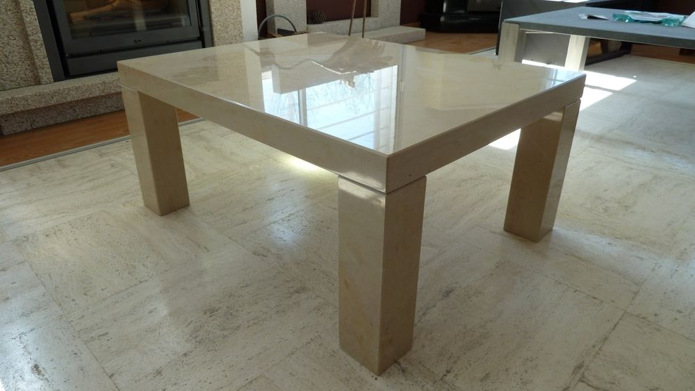 Table basse pierre calcaire 450 Annecy (74)