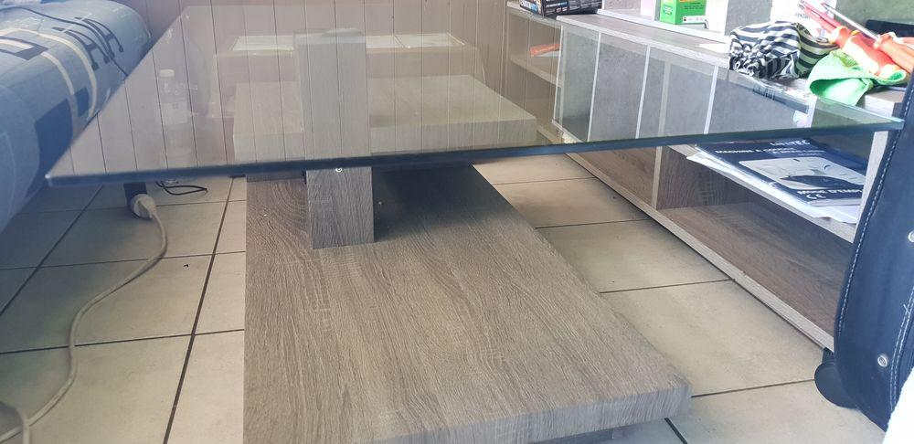 Table basse plateau en verre  60 Allinges (74)