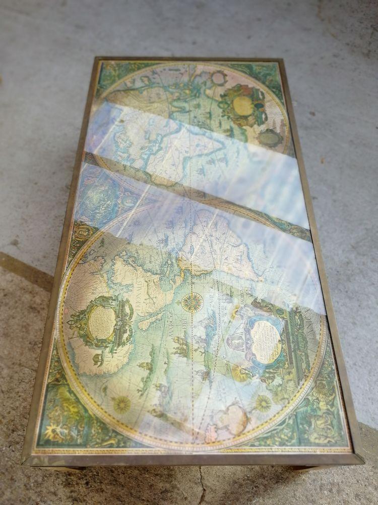 Table basse rectangulaire dessus verre 120 Vert-Saint-Denis (77)
