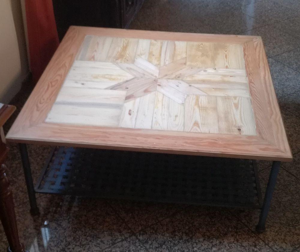 Table basse rénovée à partir de palettes 55 Forges-les-Bains (91)