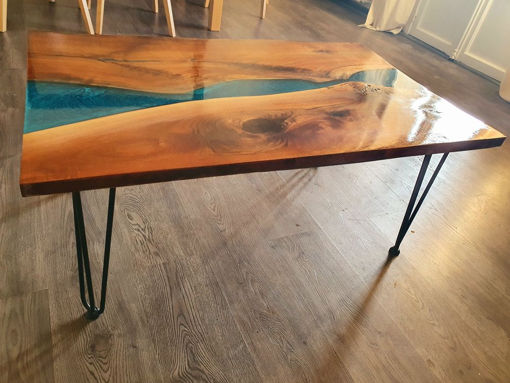 Table basse riviere noyer 380 Puyricard (13)