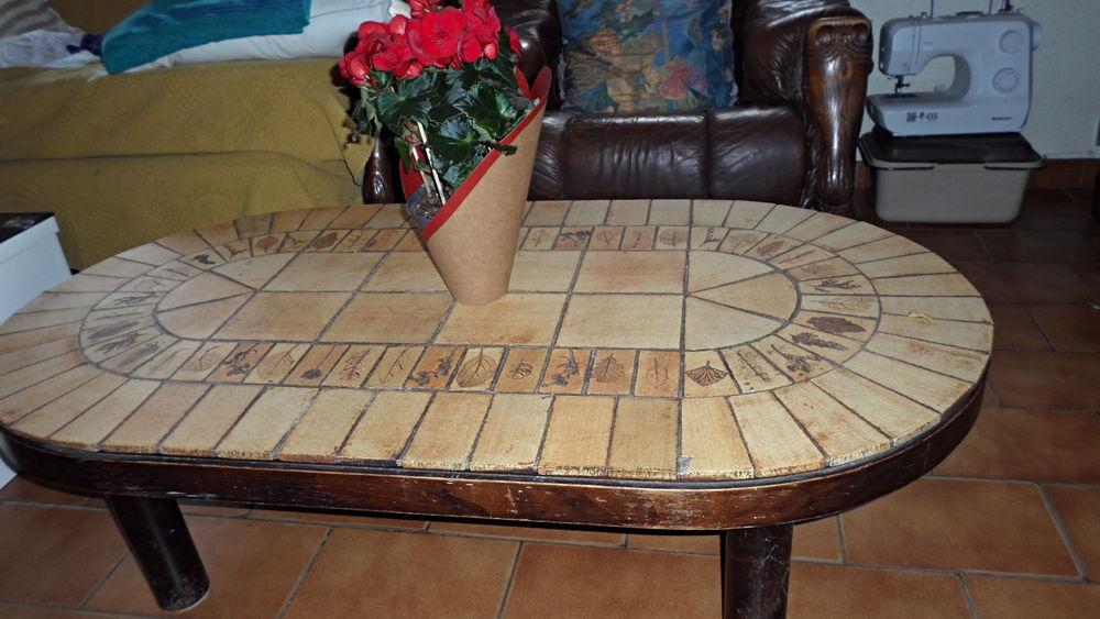 TABLE BASSE ROCHE ET BOBOIS CARRELEE Meubles