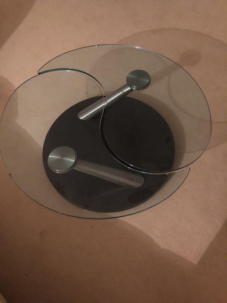 Table basse Roche Bobois en verre Yoga (Yin/Yang)  0 Bois-d'Arcy (78)