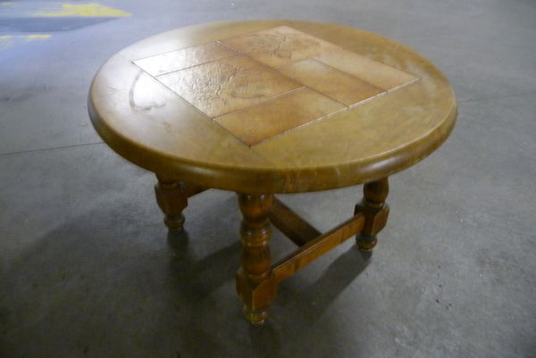TABLE BASSE RONDE  30 Voiron (38)