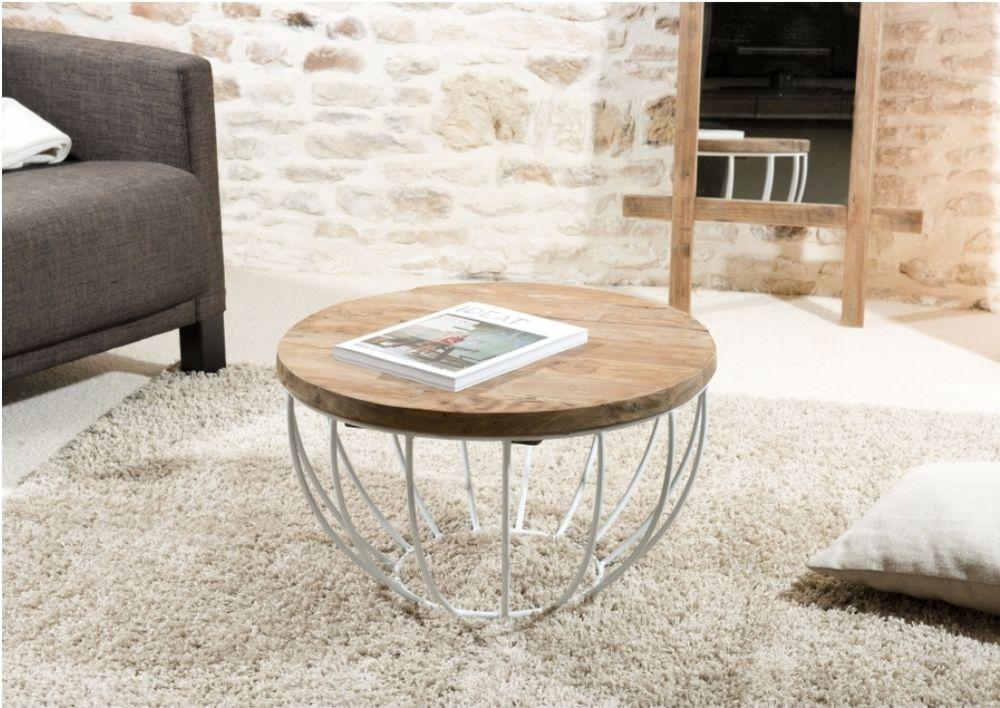Table basse ronde Macabane bois 160 Paris (75)