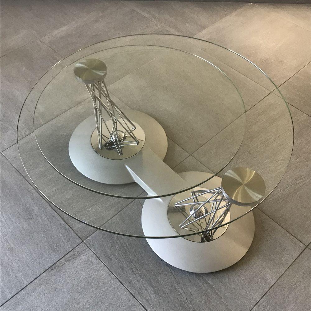 Table basse rotative en verre 400 Sarcelles (95)