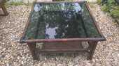 Table basse Rotin Bambou carrée 88/89CM  0 Souppes-sur-Loing (77)