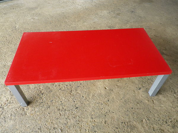 Table Basse Rouge Meubles