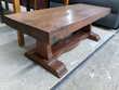 Table basse rustique en bois massif