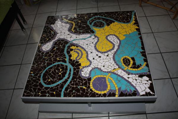 table basse de salon en mosaïque 150 Passay (44)