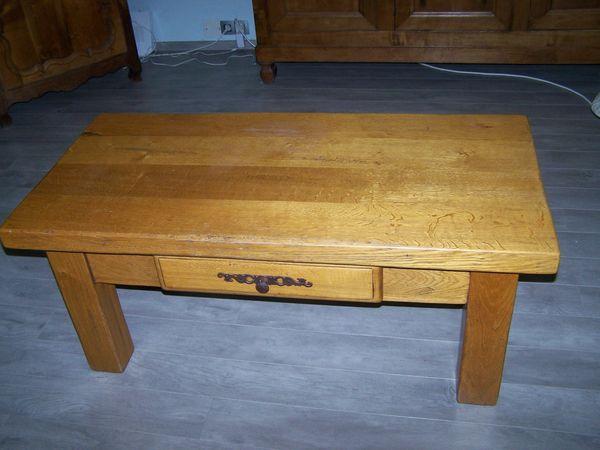 TABLE BASSE DE SALON CHENE MASSIF 200 Pélissanne (13)