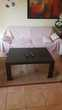 table basse de salon en feronnerie et granite . Beynes (78)