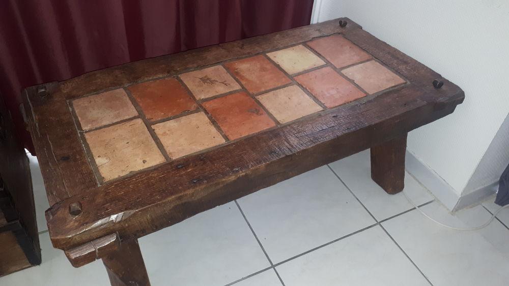 Table basse de salon rustique en chêne massif 150 Mérignac (33)