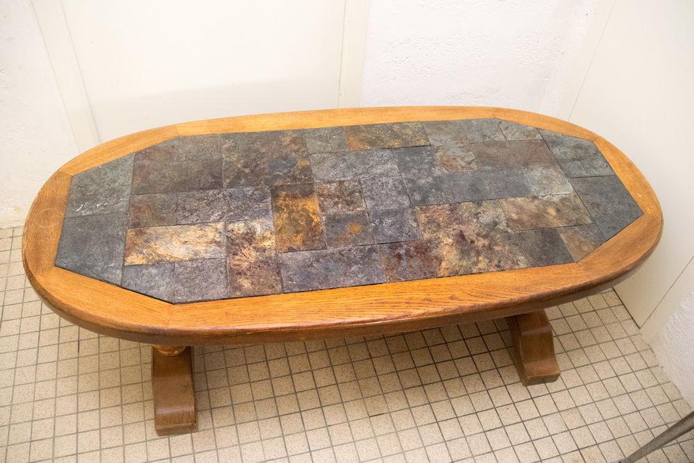 Table basse de salon en bois massif  20 Mouazé (35)