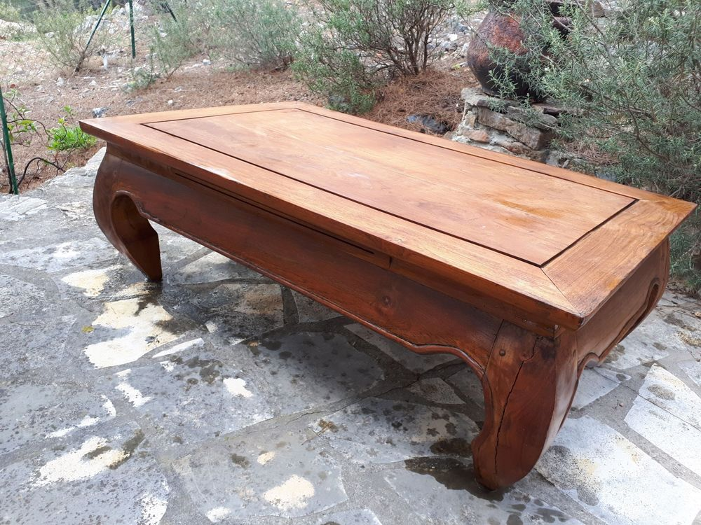 Table basse salon type exotiqie en bois 30 Espira-de-l'Agly (66)