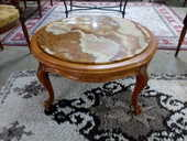 Table basse style Louis XV marbre rond 60 Toulouse (31)