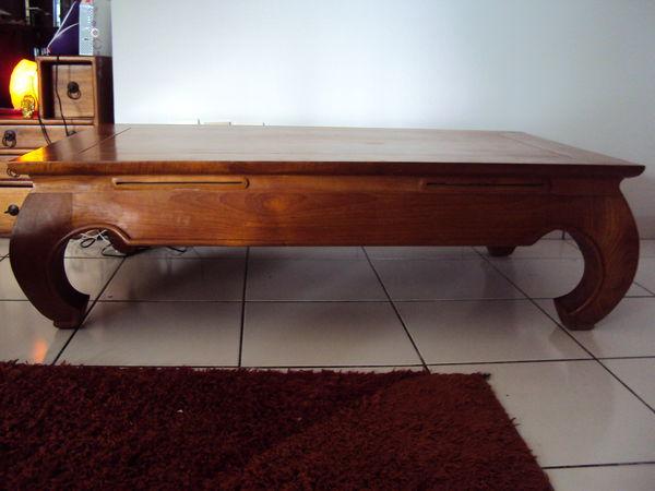 Achetez table basse en teck occasion annonce vente le tampon 97 wb149514878 - Meuble en teck d occasion ...