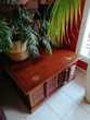 TABLE BASSE EN TECK BOIS DE QUALITE A 95 x 95 x 45 350 Courbevoie (92)