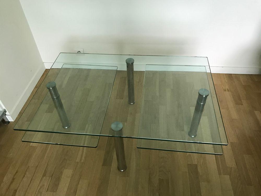 TABLE BASSE EN VERRE Meubles
