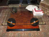 TABLE BASSE EN VERRE ART DECO 200 Bordeaux (33)