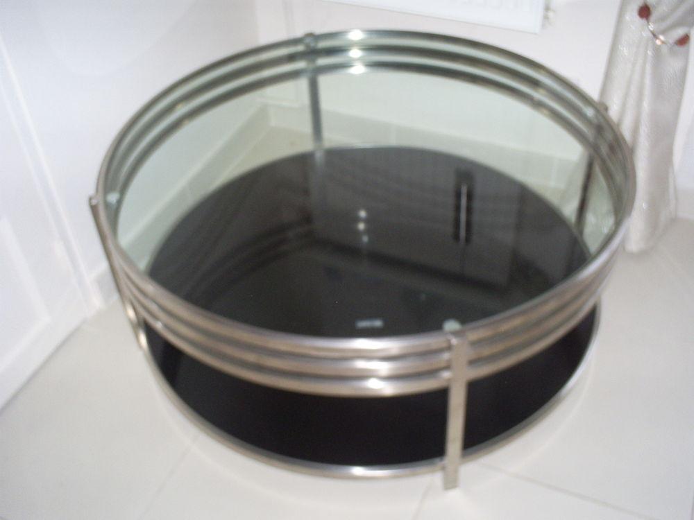 TABLE BASSE VERRE/INOX 250 Ézanville (95)