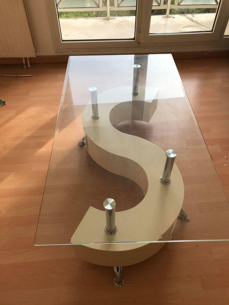 Table basse en verre  60 Cergy (95)