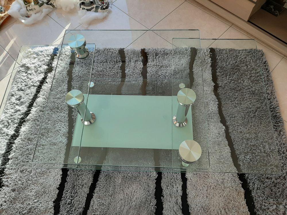 Table basse en verre Aucune rayure  60 Péaule (56)