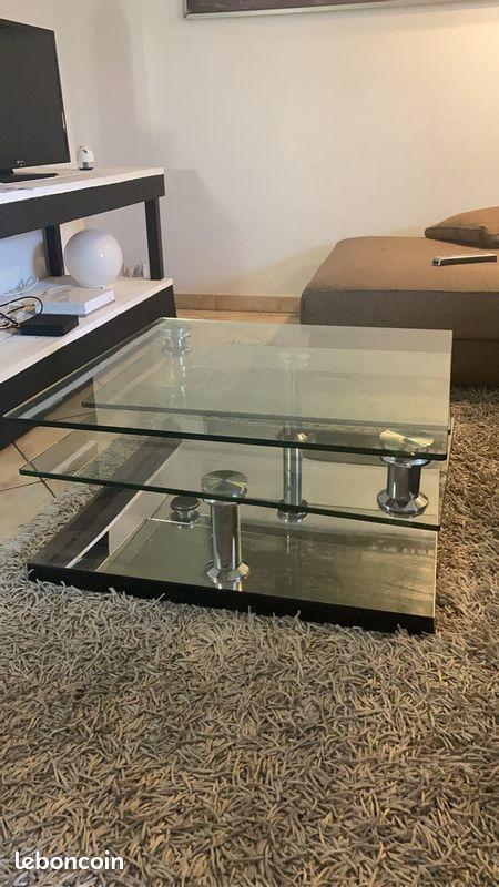 table basse en verre 200 Le Muy (83)