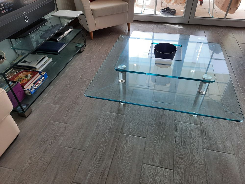table basse verre 250 Fouesnant (29)