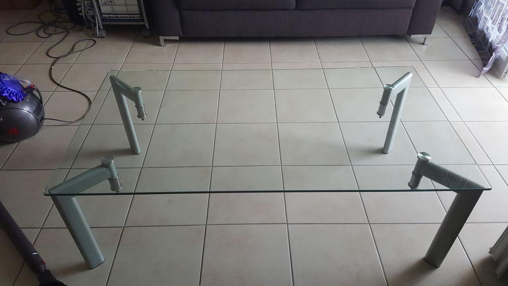 table basse verre trempe cause déménagement 25 Nice (06)