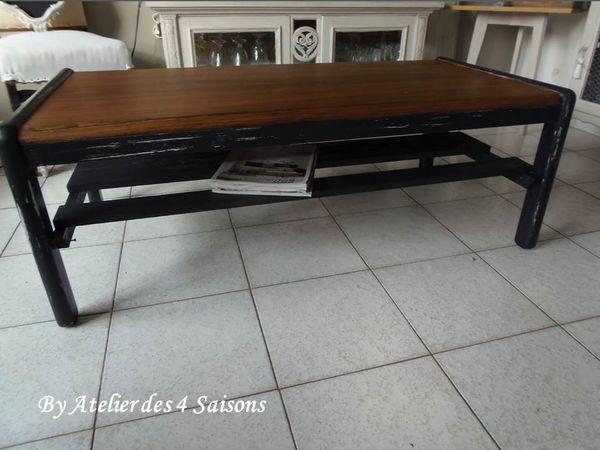 Achetez table basse vintage occasion, annonce vente à Houilles (78 ...
