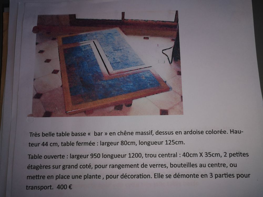 Table basse Meubles