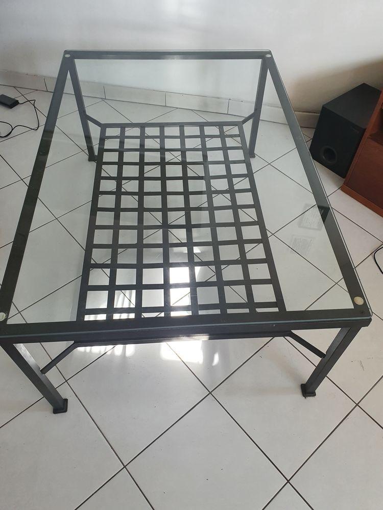 Table basse fer 120 Yerres (91)