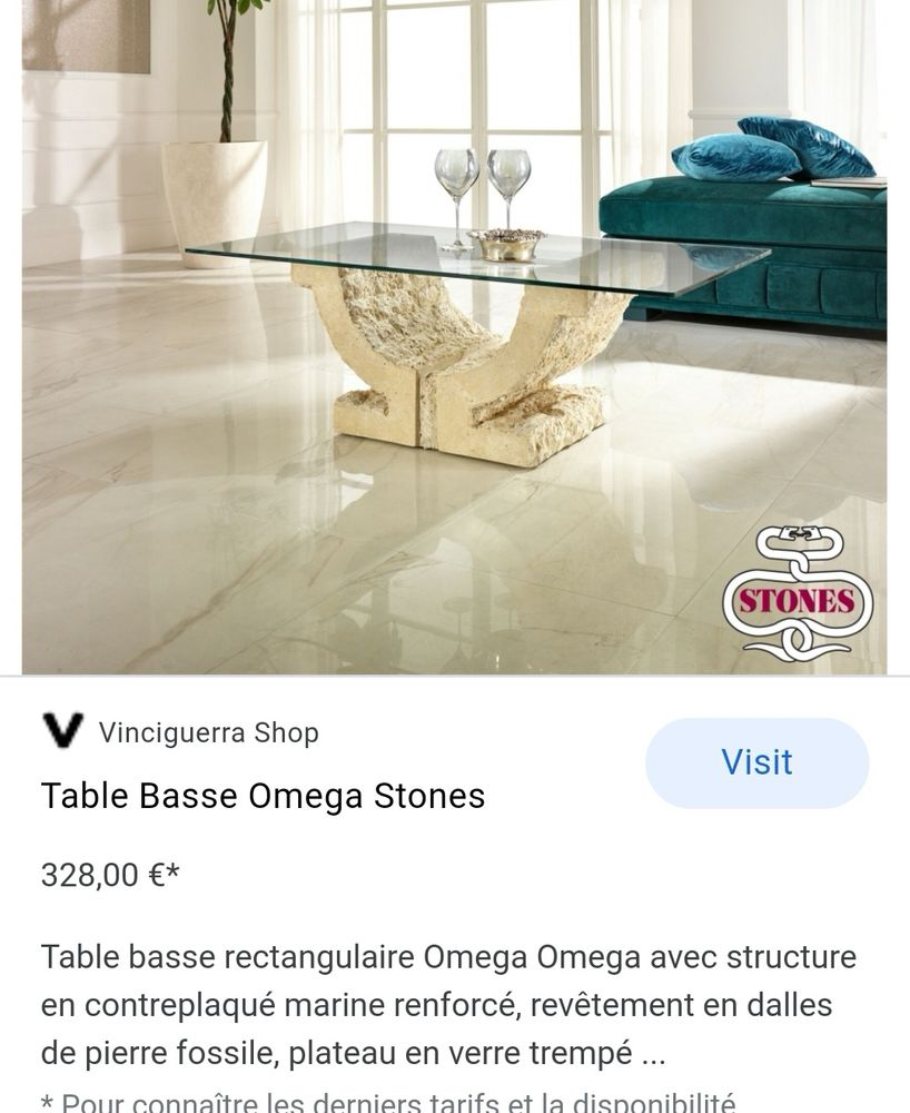 Table basse  80 Avranches (50)