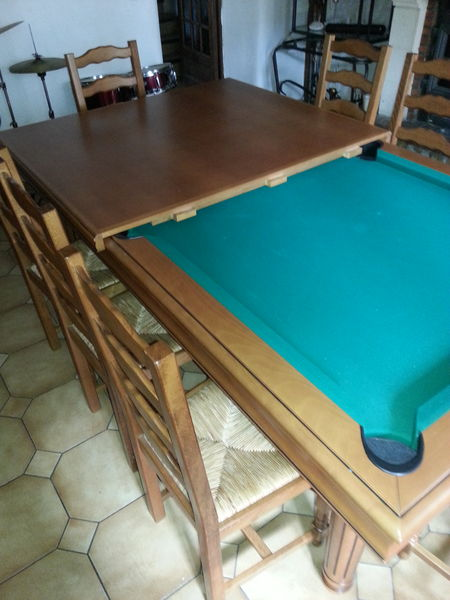 billard table doccasion. Black Bedroom Furniture Sets. Home Design Ideas
