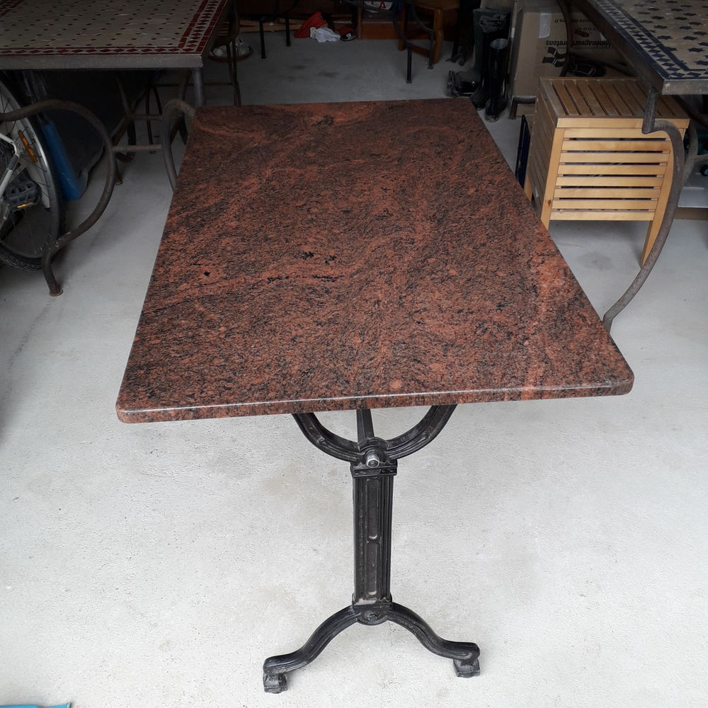 TABLE BISTRO GRANIT ROUGE 150 Gradignan (33)
