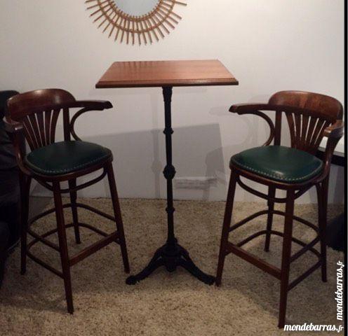 tables de bistrot occasion en le de france annonces achat et vente de tables de bistrot. Black Bedroom Furniture Sets. Home Design Ideas
