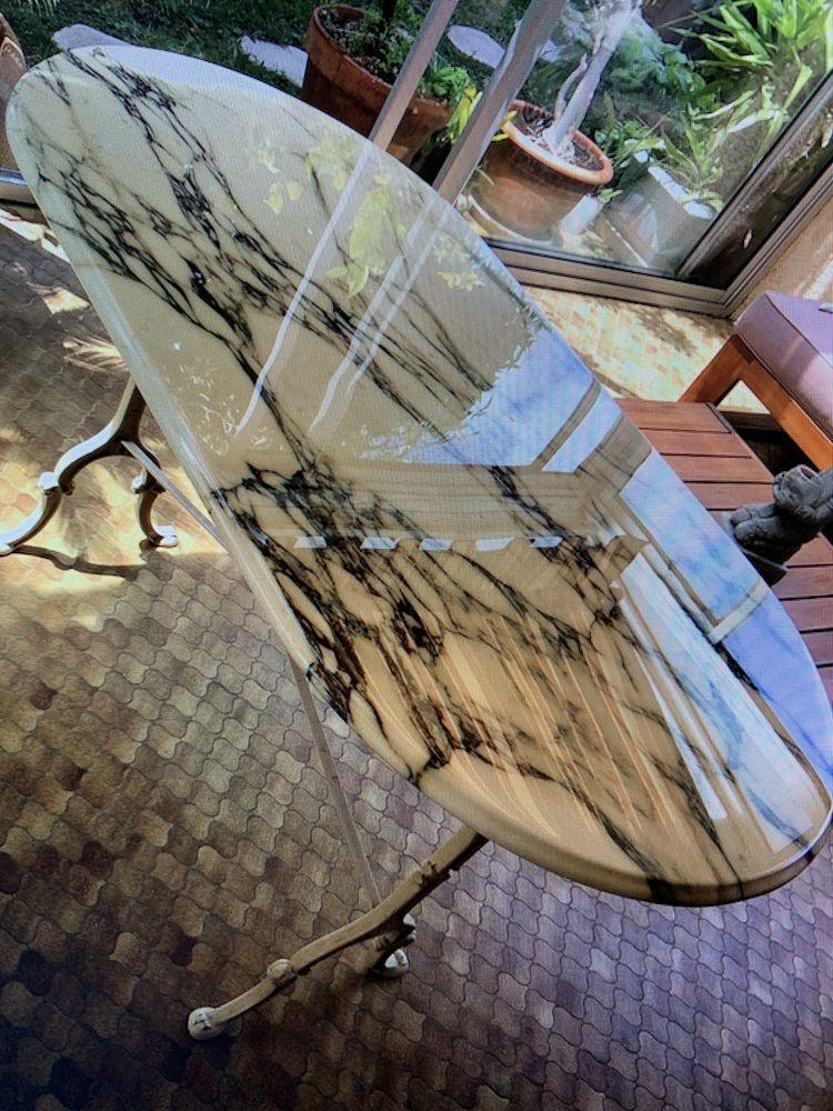 Table bistrot en marbre 150 Eysines (33)