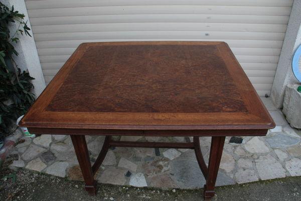 table bois 105x115 plus rallonges 2fois 40 20 Saint-Denis-sur-Loire (41)