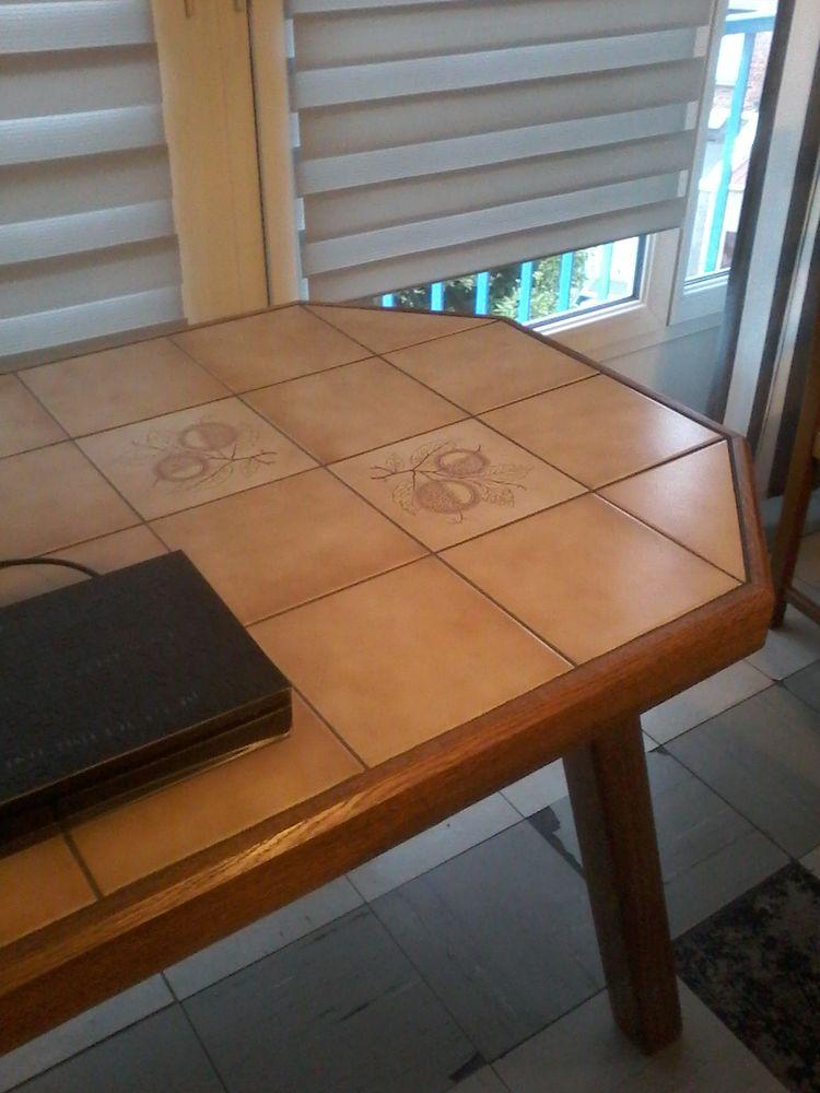 Table en bois chêne clair massif  120 Tourcoing (59)