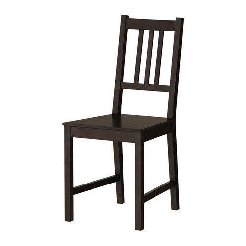 table bois massif brun foncé ikéa + 4 chaises 90 Marseille 9 (13)