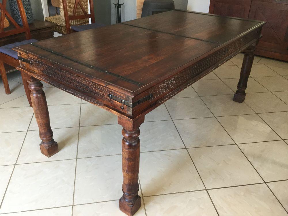 Table bois massif 300 Atur (24)
