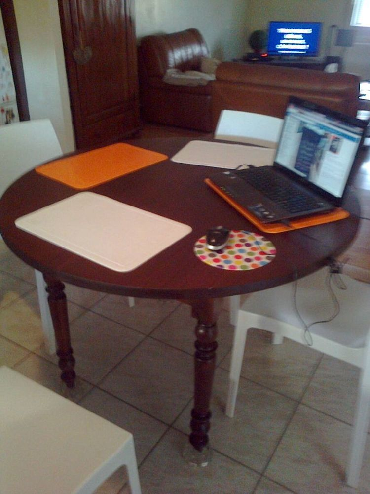 table bois massif 115cm 0 Libourne (33)