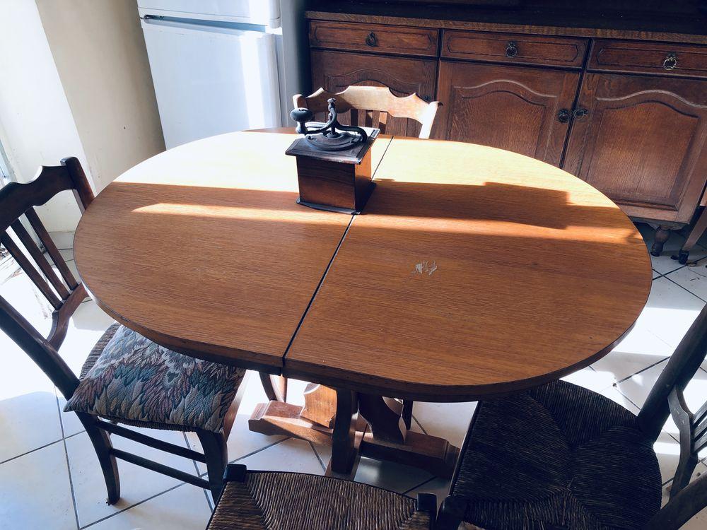 table en bois massif 20 Seugy (95)
