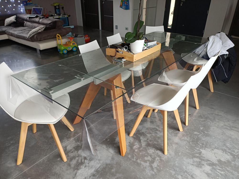Table bois et verre  890 Saint-Péray (07)